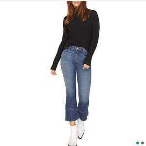 NEW WITH TAGS SANCTUARY DENIM CONNECTOR CROP RAW